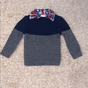 Cat and Jack boy sweater size 2T.